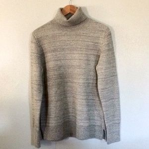 J.Crew Factory Space-dyed Turtleneck Sweater